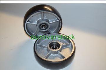 Picture of A Pair of Crown PTH50 Steer Wheels 44495-001 Steel Hub (#112164186336)
